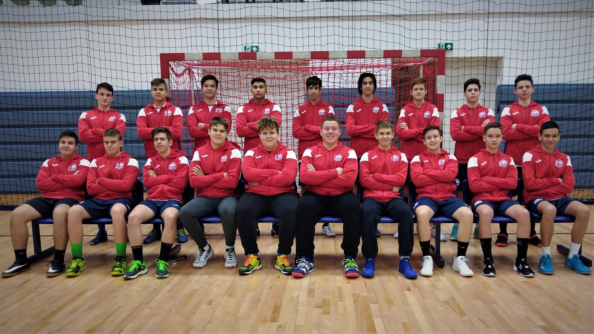 ASI DSE Kézilabda U16 - Tövisháti Zsombor csapata
