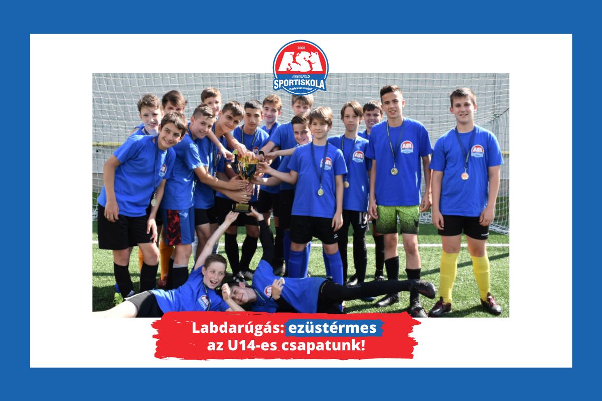 ASI DSE Labdarúgó U14 díjátadó - Ezüstérmes az 14-es csapatunk!