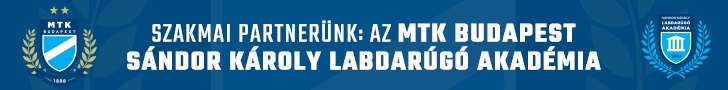 Szakmai partnerünk: az MTK Budapest Sándor Károly Labdarúgó Akadémia
