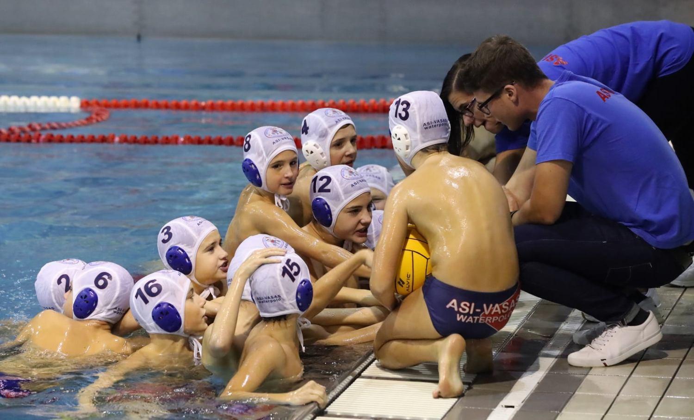 Az ASI-Kistarcsa vízilabdásai a Markovits Kálmán Gyermek 2008 Bajnokságon