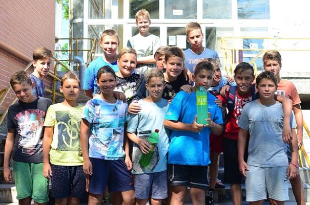 Vízilabda: ceglédi nyári edzőtábor a 2008-as csapatunknak