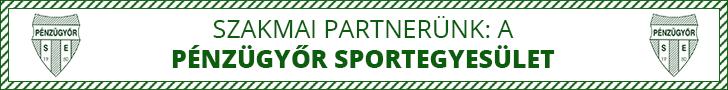 Szakmai partnerünk: a Pénzügyőr SE