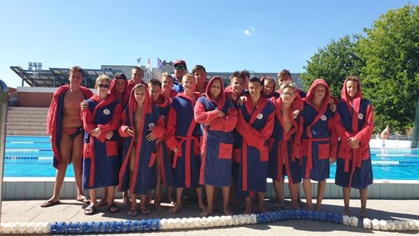 Vízilabda: ceglédi nyári edzőtábor a 2007-es csapatunknak