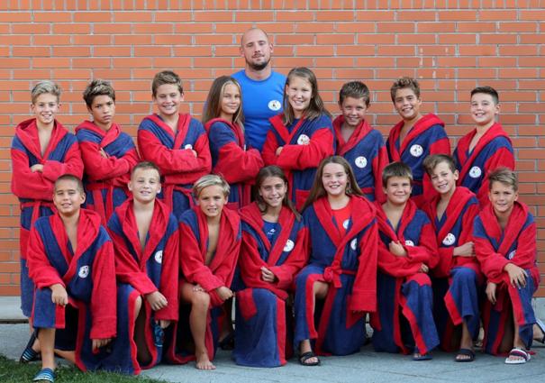 Vízilabda: csongrádi nyári edzőtábor a 2009-es csapatunknak